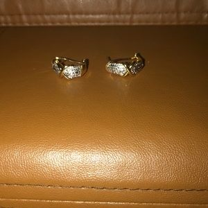 NWT DIAMOND ACCENT EARRINGS